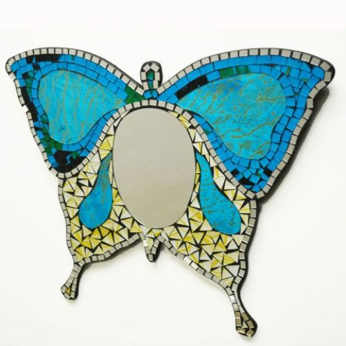 Mirror Mosaic butterfly