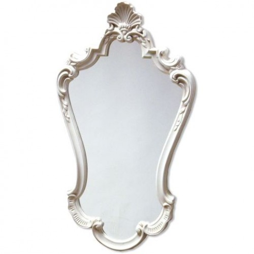 Ivory Antique Styled Mirror