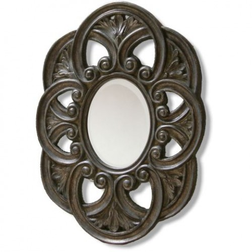 Gold Antique Styled Wall Mirror