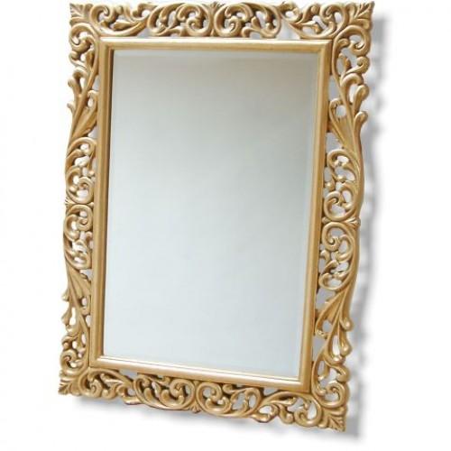 Gold Baroque Mirror