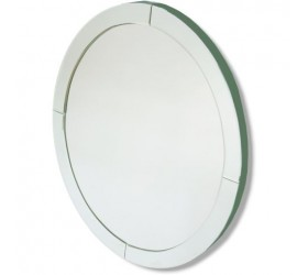 Contemporary Oval Mirror