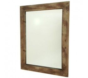 Rustic Natural Timber Wall Mirror