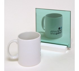 Glass green Mirror Sample