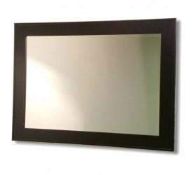 Contemporary Black Framed Mirror
