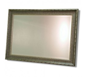 Classic silver ornate framed Wall Mirror