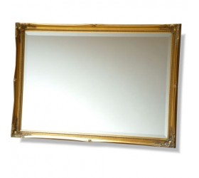 Antique style black ornate Wall Mirror