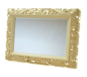 Cream Decorative Wall Mirror