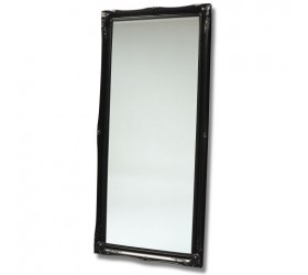 Black Antique Styled Wall Mirror