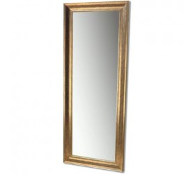 Full Height Silver/Gold Framed Mirror