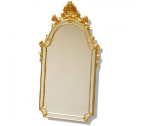 Gilt Leaf Framed Mirror