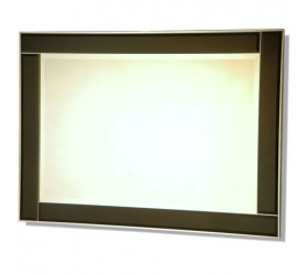 Black Contemporary Styled Wall Mirror