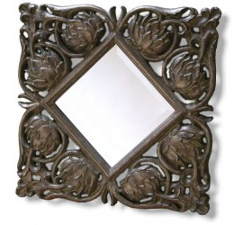 Bronze Antique Styled Mirror