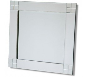 Contemporary all glass Wall Mirror