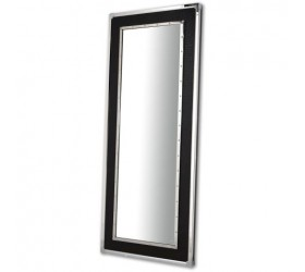 Crocodile Leather Modern Full Length Wall Mirror