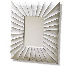 Shabby Chic white Decorative Wall Mirror