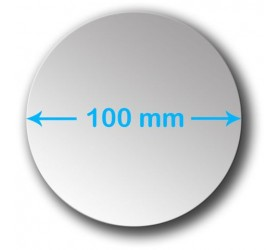 100mm Round Acrylic Mirror