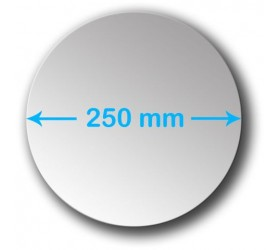 250mm Round Acrylic Mirror