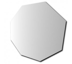 Octagonal Arissed Edge Mirror