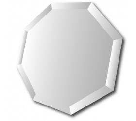 Octagonal Bevelled Mirror