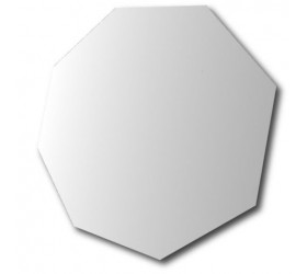 Octagonal Polished Edge Mirror