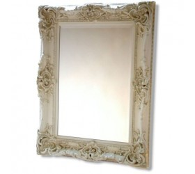 Ivory Antique Styled Wall Mirror