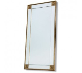 Tall Mirror with Gold Features