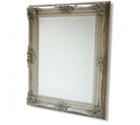 Silver Swept Framed Mirror