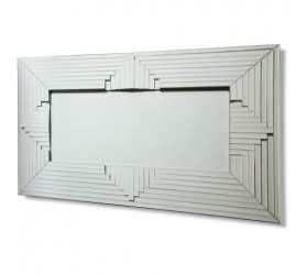 Silver Contemporary Mirror | Design SM120