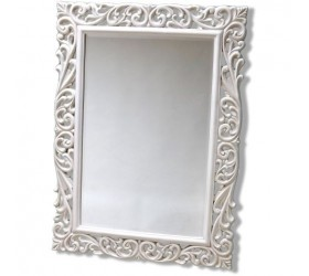 White Decorative Mirror