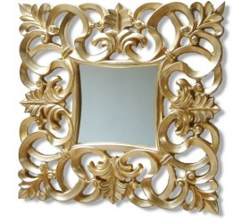 Gold Ornate Framed Mirror