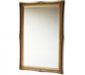 Gold Swept Framed Mirror