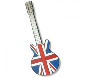 Union Jack Guitar mosaic Wall Mirror